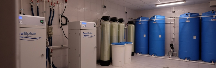Reverse osmosis room